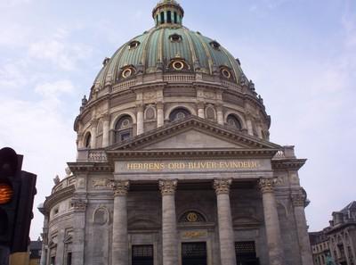 COPENHAGEN  DENMARK..            Fredericks Church ,