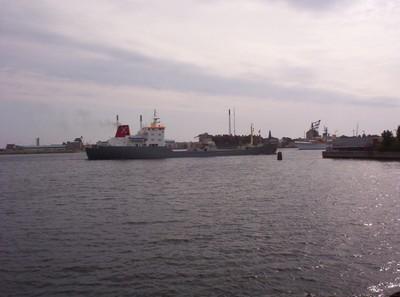 COPENHAGEN  DENMARK .       Busy  Waterway.