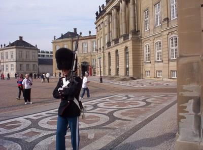 COPENHAGEN  DENMARK.       Amalienborg  Palace.