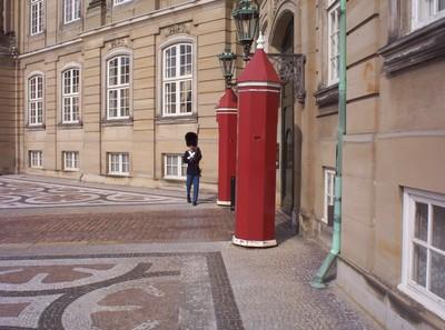 COPENHAGEN  DENMARK .       Amalienborg  Palace.