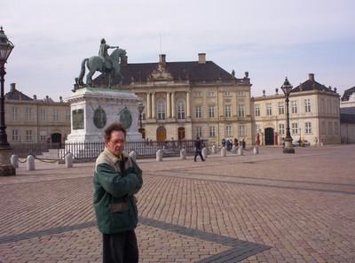 COPENHAGEN   DENMARK..    .   Royal Palace Square.