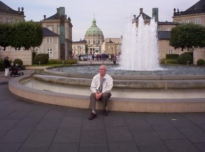 COPENHAGEN  DENMARK...  Green Dome of Fredericks Church.