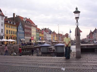 COPENHAGEN  DENMARK.        Nyhavn.
