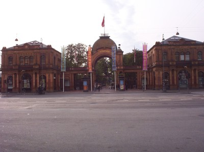 COPENHAGEN  DENMARK.      Tivoli Gardens.  15 acres entertainment place.