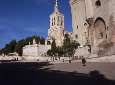 AVIGNON,  FRANCE.-----Cathedral  in  November  2003.