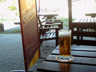 CHEB  CZECH.        Gambrinus  Beer, brewed by Pilsner Urquell Brewery.