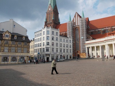 SCHWERIN  GERMANY.. Old town.