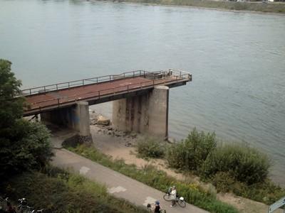REMAGEN   GERMANY..     Remains of bridge.