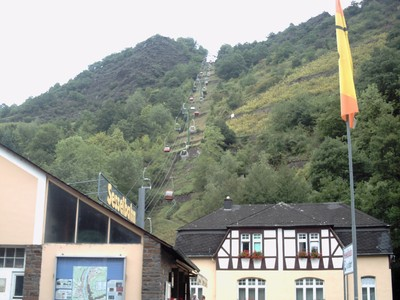 COCHEM  GERMANY..  Chairlift.