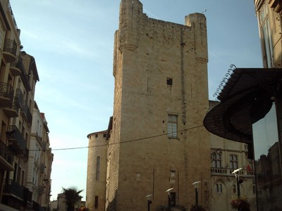 NARBONNE  FRANCE. --  Part  of  the  old  Archbishops  Palace  in Place Domitia.