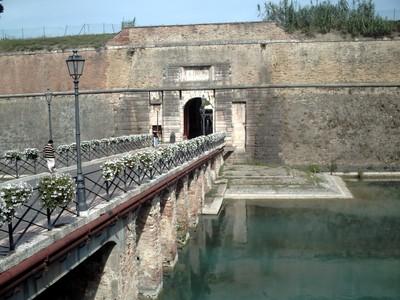 PESCHIERA DEL GARDA  ITALY.--Fortress  Brescia  Gate.