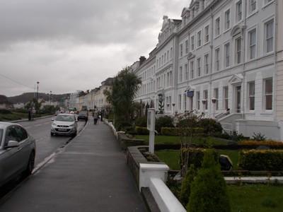 LLANDUDNO WALES  . Hotels on Sea Front.