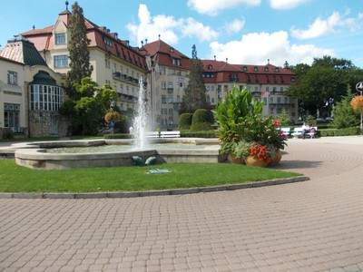 PIESTANY on a day trip by train from Bratislava.