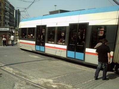 ISTANBUL  TURKEY..  City Tram.