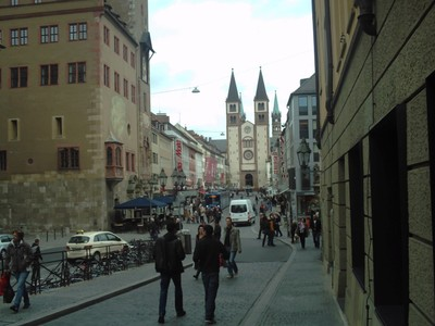 WURZBURG  GERMANY.   Kappele  Cathedral.