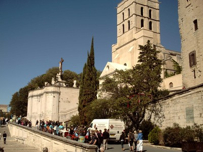 AVIGNON  FRANCE.   Cathedral,  R.C.  Church  and  Seat of a  Bishop.
