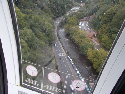 MATLOCK BATH  From cable car,   A6 main road.