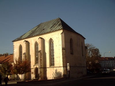 CHEB  CZECH.   Church of St. Bartholomew,  former hospital from 1414.