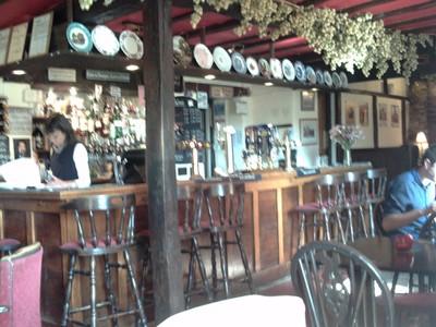 LUDLOW, ENGLAND.    --  Inside  a  pub.