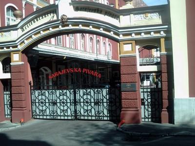 SARAJEVO.   Brewery  gates.