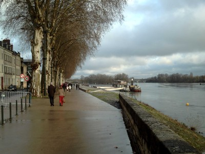 ORLEANS,  FRANCE.  --  Nice walk by the river Loire.