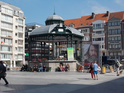 OSTEND .Band Stand.