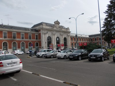 VALLADOLID  SPAIN.  --  Campo-Grande  railway  station.