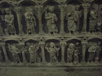 ARLES,  FRANCE.  St. Trophime  church  ,  carvings.