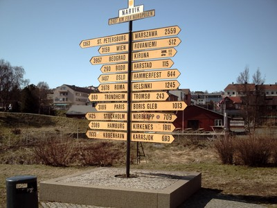 norway NARVIK HOW FAR ?