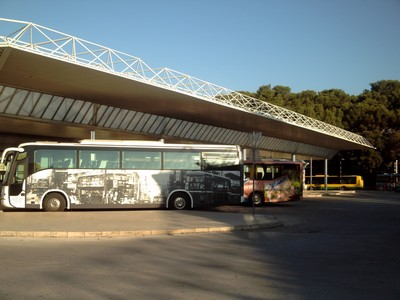 PULA  CROATIA.   Bus  Station.---  Bus  to  Trieste  Italy,nearly  3  hours.