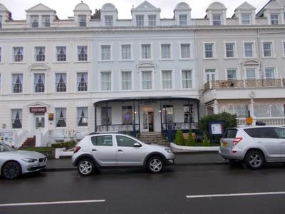 LLANDUDNO WALES.. Elsinore Hotel on Promenade.