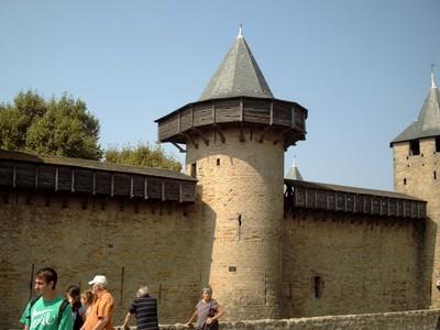 CARCASSONNE  FRANCE..The  Castle  known as Cite De Carcassonne