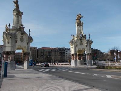 SAN SEBASTIAN  SPAIN .  Maria Cristina  Bridge.