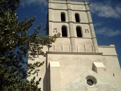 AVIGNON  FRANCE,   Cathedral. Notre-Dame Des Dom  Avignon.  from  1425  AD.
