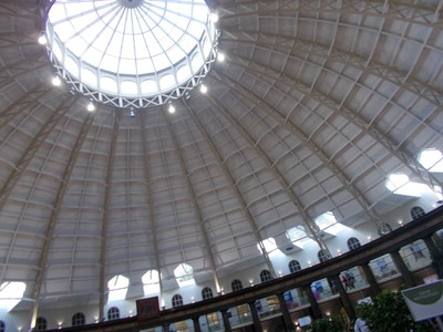 BUXTON. Inside the Dome. A diameter of 144 ft   [ 44m