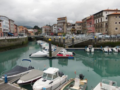 LLANES,  SPAIN.  -- Charming  harbour,  pleasure  and  fishing  port.  --In 1588 ,65  sailors from Llanes  sailed in  three  ships in  the  Spanish  Armada.