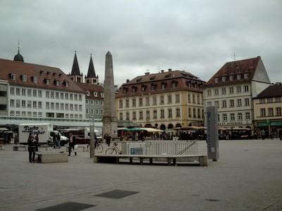 WURZBURG   GERMANY  . Main Square.