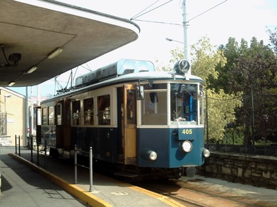 TRIESTE  ITALY.     Opicina  Tramway. in  2010.