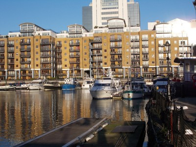ST. KATHARINES  DOCK,  LONDON.--Former dock now a lovely mix use area.
