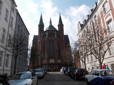 SCHWERIN  GERMANY..      St. Pauls church.