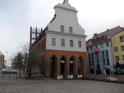 SZCZECIN  POLAND.   Old Town Hall in Stare Miasto.