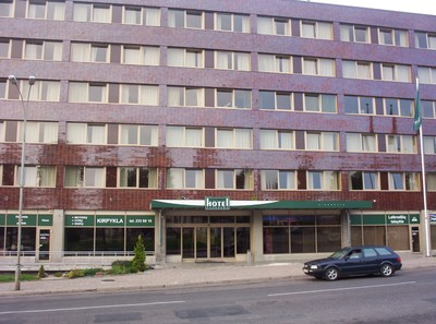 VILNIUS  LITHUANIA,  Hotel Panorama.