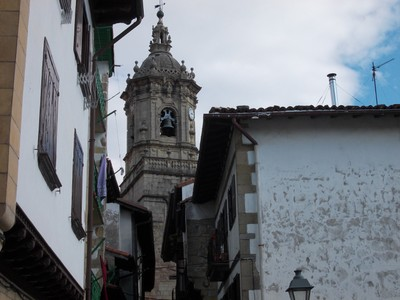 HONDARRIBIA   SPAIN.  --  Santa  Maria  church.