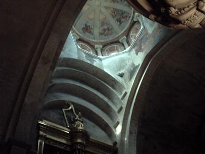 AVIGNON  FRANCE.   Inside  cathedral
