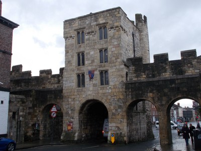 MICKLEGATE BAR, FROM INSIDE CITY