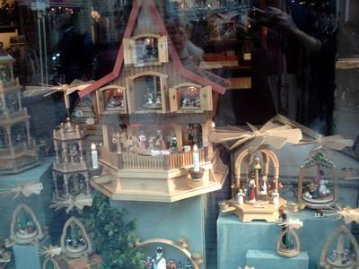 BAMBERG  GERMANY       Shop window display.