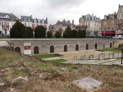 REIMS,  FRANCE.  -- Roman  site.
