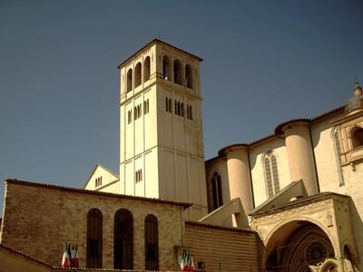 ASSISI   ITALY..  St Francis  Basilica.