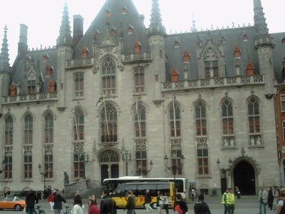 BRUGES  BELGUIM.   Town Hall.   City governed from here for 600 years.