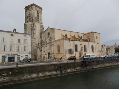LA  ROCHELLE,  FRANCE  ---St. Sauveur  church.